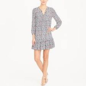 J.Crew Factory Floral Mini Dress Size Medium